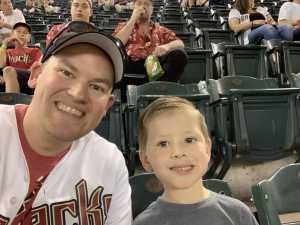 Trevor attended Arizona Diamondbacks vs. Pittsburgh Pirates - MLB on May 15th 2019 via VetTix