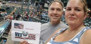Sara attended Arizona Diamondbacks vs. Pittsburgh Pirates - MLB on May 15th 2019 via VetTix