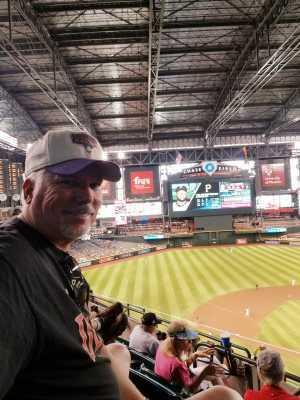 Jeffery attended Arizona Diamondbacks vs. Pittsburgh Pirates - MLB on May 15th 2019 via VetTix