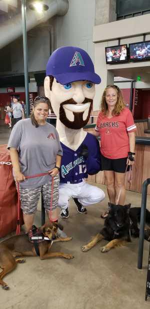 Heather attended Arizona Diamondbacks vs. Pittsburgh Pirates - MLB on May 15th 2019 via VetTix