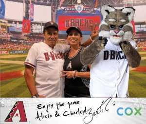 Alicia Bell attended Arizona Diamondbacks vs. Pittsburgh Pirates - MLB on May 15th 2019 via VetTix