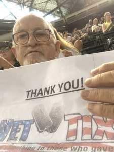 Kenneth attended Arizona Diamondbacks vs. Pittsburgh Pirates - MLB on May 15th 2019 via VetTix