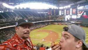 DOUGLAS attended Arizona Diamondbacks vs. Pittsburgh Pirates - MLB on May 15th 2019 via VetTix