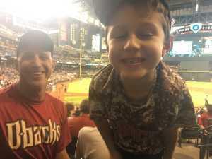 Christopher attended Arizona Diamondbacks vs. Pittsburgh Pirates - MLB on May 15th 2019 via VetTix