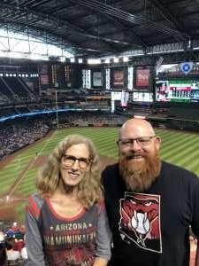 Chad attended Arizona Diamondbacks vs. Pittsburgh Pirates - MLB on May 15th 2019 via VetTix