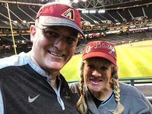 Edward attended Arizona Diamondbacks vs. Pittsburgh Pirates - MLB on May 15th 2019 via VetTix