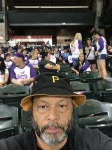 Harvey attended Arizona Diamondbacks vs. Pittsburgh Pirates - MLB on May 15th 2019 via VetTix