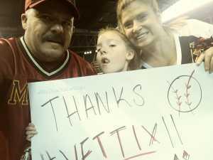 travis attended Arizona Diamondbacks vs. Pittsburgh Pirates - MLB on May 15th 2019 via VetTix