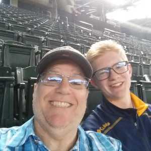 Terry attended Arizona Diamondbacks vs. Pittsburgh Pirates - MLB on May 15th 2019 via VetTix