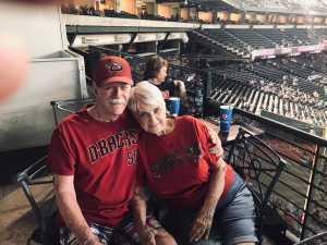 Ronald attended Arizona Diamondbacks vs. Pittsburgh Pirates - MLB on May 15th 2019 via VetTix