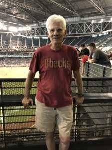Dan attended Arizona Diamondbacks vs. Pittsburgh Pirates - MLB on May 15th 2019 via VetTix