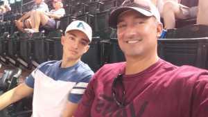 David attended Arizona Diamondbacks vs. Pittsburgh Pirates - MLB on May 15th 2019 via VetTix