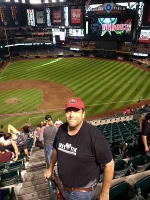 James attended Arizona Diamondbacks vs. Pittsburgh Pirates - MLB on May 15th 2019 via VetTix