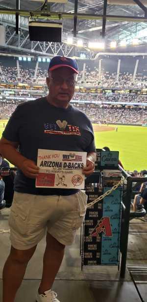 David attended Arizona Diamondbacks vs. New York Yankees - MLB on May 1st 2019 via VetTix