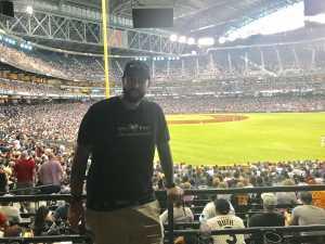 bruce attended Arizona Diamondbacks vs. New York Yankees - MLB on May 1st 2019 via VetTix
