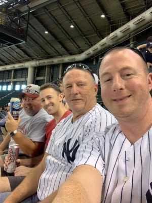 Rob attended Arizona Diamondbacks vs. New York Yankees - MLB on May 1st 2019 via VetTix