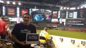 Leonard attended Arizona Diamondbacks vs. New York Yankees - MLB on May 1st 2019 via VetTix