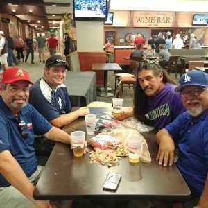 Robert attended Arizona Diamondbacks vs. New York Yankees - MLB on May 1st 2019 via VetTix
