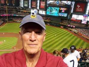 BRAD attended Arizona Diamondbacks vs. New York Yankees - MLB on May 1st 2019 via VetTix