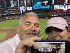Barry attended Arizona Diamondbacks vs. New York Yankees - MLB on May 1st 2019 via VetTix
