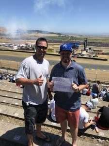 Steven attended Toyota Save Mart 350 - KB100 - Kurt Busch Fan Appreciation Tickets on Jun 23rd 2019 via VetTix