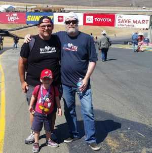 Chris Bishop attended Toyota Save Mart 350 - KB100 - Kurt Busch Fan Appreciation Tickets on Jun 23rd 2019 via VetTix