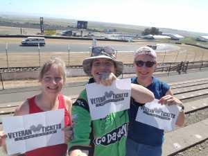 Gloria attended Toyota Save Mart 350 - KB100 - Kurt Busch Fan Appreciation Tickets on Jun 23rd 2019 via VetTix