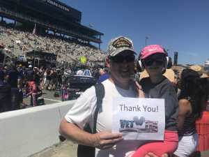 Josh attended Toyota Save Mart 350 - KB100 - Kurt Busch Fan Appreciation Tickets on Jun 23rd 2019 via VetTix