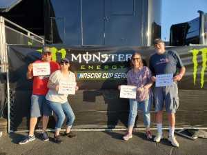 Paul attended Toyota Save Mart 350 - KB100 - Kurt Busch Fan Appreciation Tickets on Jun 23rd 2019 via VetTix