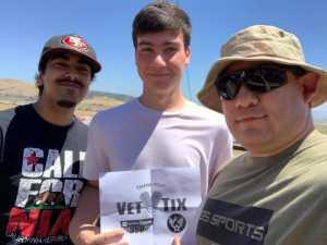 Richard attended Toyota Save Mart 350 - KB100 - Kurt Busch Fan Appreciation Tickets on Jun 23rd 2019 via VetTix