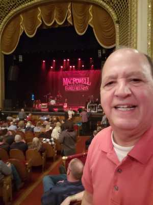 David attended Mac Powell & The Family Reunion on Apr 16th 2019 via VetTix
