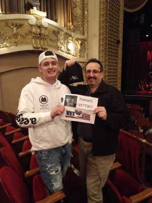 Kevin attended Mac Powell & The Family Reunion on Apr 16th 2019 via VetTix