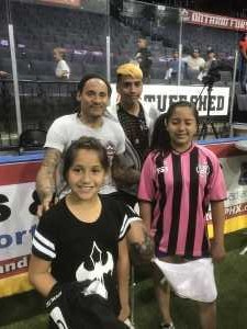 Joe attended Ontario Fury vs Monterrey Mexico - MALS on Apr 14th 2019 via VetTix