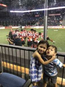 Trung attended Ontario Fury vs Monterrey Mexico - MALS on Apr 14th 2019 via VetTix