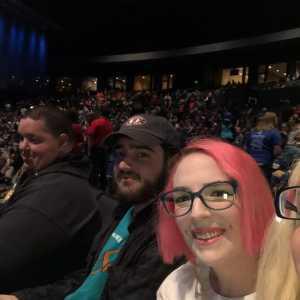 John attended Double Dare Live! on Apr 13th 2019 via VetTix