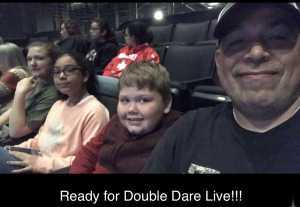 Marcus attended Double Dare Live! on Apr 13th 2019 via VetTix