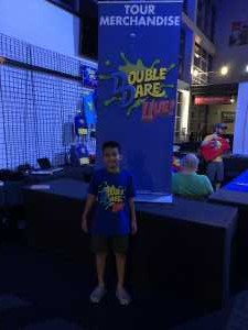 Luis attended Double Dare Live! on Apr 13th 2019 via VetTix