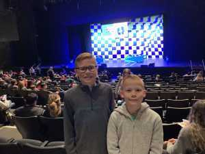 Jared attended Double Dare Live! on Apr 13th 2019 via VetTix