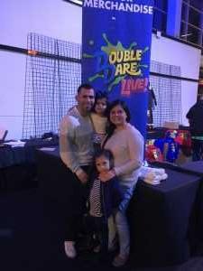 Mauricio attended Double Dare Live! on Apr 13th 2019 via VetTix