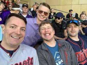 Lucas attended Minnesota Twins vs. Los Angeles Angels - MLB on May 14th 2019 via VetTix