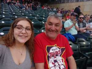 GREG attended Minnesota Twins vs. Los Angeles Angels - MLB on May 14th 2019 via VetTix