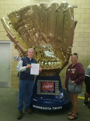 gene attended Minnesota Twins vs. Los Angeles Angels - MLB on May 14th 2019 via VetTix