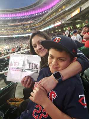 MstSgt's wife Denise attended Minnesota Twins vs. Los Angeles Angels - MLB on May 14th 2019 via VetTix