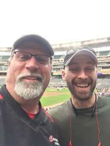 Merle attended Minnesota Twins vs. Los Angeles Angels - MLB on May 14th 2019 via VetTix