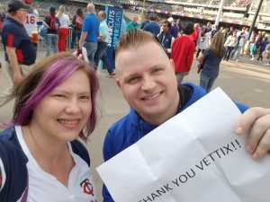 Jennifer attended Minnesota Twins vs. Los Angeles Angels - MLB on May 14th 2019 via VetTix