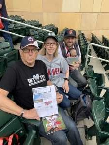 Charles attended Minnesota Twins vs. Los Angeles Angels - MLB on May 14th 2019 via VetTix