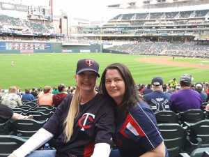 Melissa attended Minnesota Twins vs. Los Angeles Angels - MLB on May 14th 2019 via VetTix