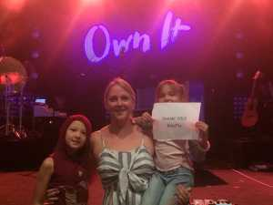 Samuel attended Francesca Battistelli - Own It Tour on Apr 13th 2019 via VetTix