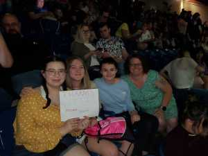 Diana attended Kelsea Ballerini: Miss Me More Tour - Country on Apr 17th 2019 via VetTix