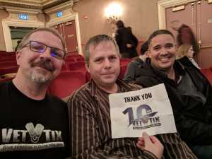 Daniel attended Nick Mason's Saucerful of Secrets - Pop on Apr 3rd 2019 via VetTix